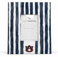 Auburn Tigers School Stripes Picture Frame