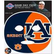 Auburn Tigers Set of 8 Game Day Faces