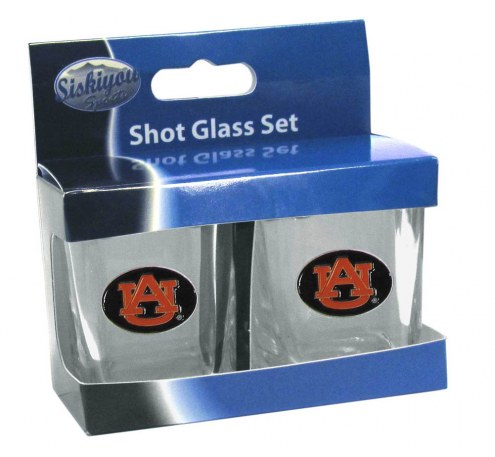 Auburn Tigers Shot Glass Set