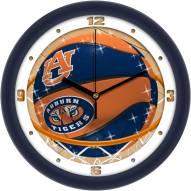 Auburn Tigers Slam Dunk Wall Clock
