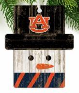 Auburn Tigers Snowman Ornament