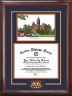 Auburn Tigers Spirit Diploma Frame with Campus Image