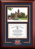 Auburn Tigers Spirit Graduate Diploma Frame