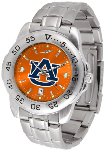 Auburn Tigers Sport Steel AnoChrome Men's Watch