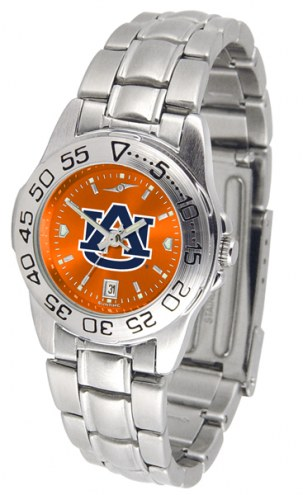 Auburn Tigers Sport Steel AnoChrome Women's Watch