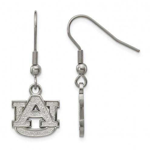 Auburn Tigers Stainless Steel Dangle Earrings