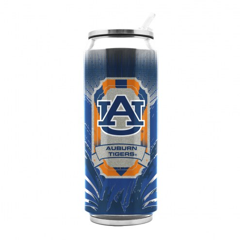 Auburn Tigers Stainless Steel Thermo Can