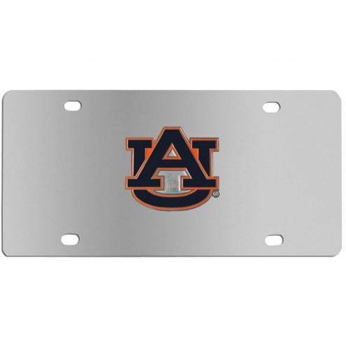 Auburn Tigers Steel License Plate