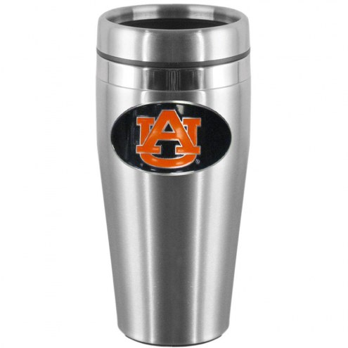 Auburn Tigers Steel Travel Mug