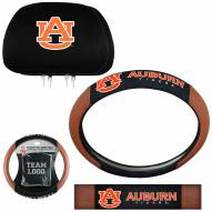 Auburn Tigers Steering Wheel & Headrest Cover Set