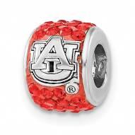Auburn Tigers Sterling Silver Charm Bead