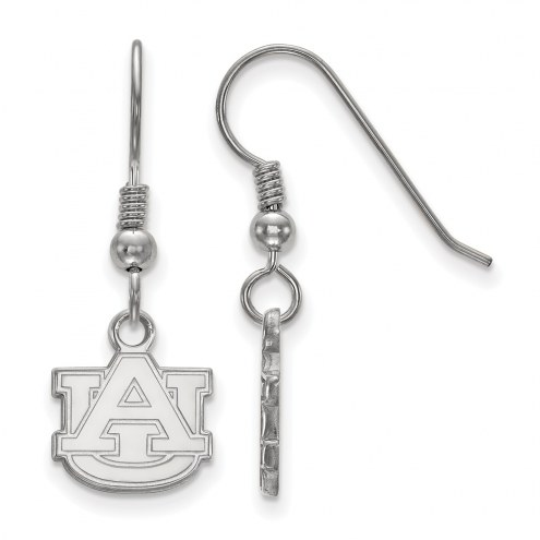 Auburn Tigers Sterling Silver Extra Small Dangle Earrings