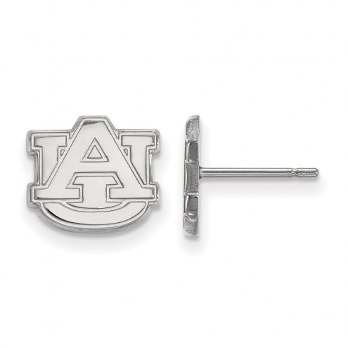 Auburn Tigers Sterling Silver Extra Small Post Earrings