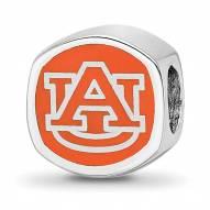Auburn Tigers Sterling Silver Logo Bead