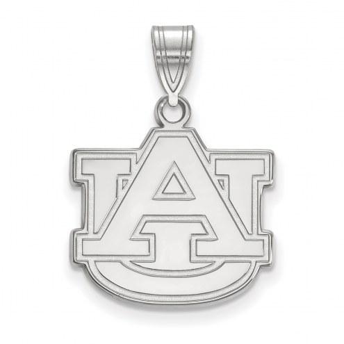 Auburn Tigers Sterling Silver Medium Pendant