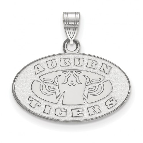 Auburn Tigers Sterling Silver Small Pendant