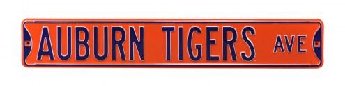 Auburn Tigers Street Sign