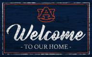 Auburn Tigers Team Color Welcome Sign