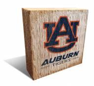 Auburn Tigers Team Logo Block