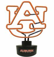 Auburn Tigers Team Logo Neon Lamp
