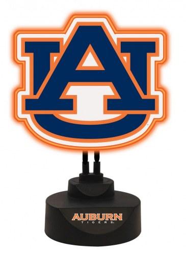 Auburn Tigers Team Logo Neon Light