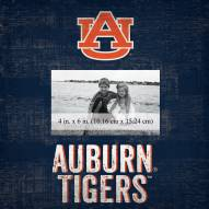 """Auburn Tigers Team Name 10"""" x 10"""" Picture Frame"""