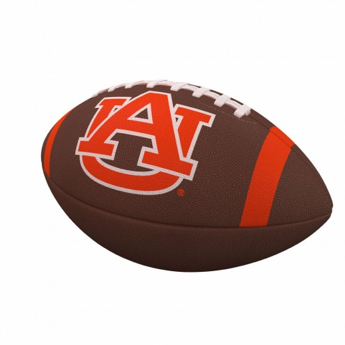Auburn Tigers Team Stripe Official Size Composite Football