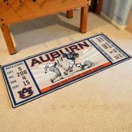 Auburn Tigers Ticket Runner Rug