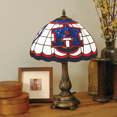 Auburn Tigers Tiffany Table Lamp