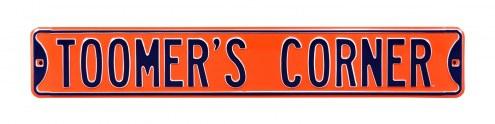 Auburn Tigers Toomer's Corner Street Sign