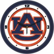 Auburn Tigers Traditional Wall Clock