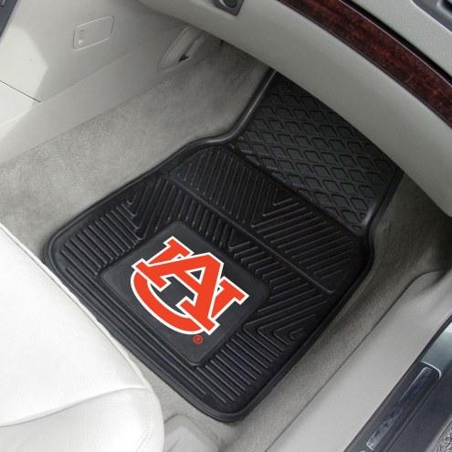 Auburn Tigers Vinyl 2-Piece Car Floor Mats