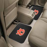 Auburn Tigers Vinyl 2-Piece Rear Floor Mats