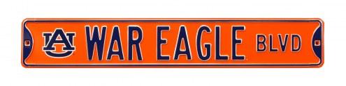 Auburn Tigers War Eagle Street Sign