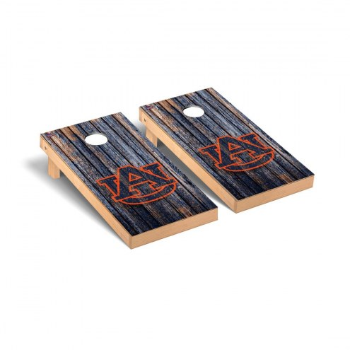 Auburn Tigers Weathered Cornhole Game Set