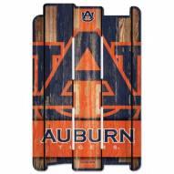 Auburn Tigers Wood Fence Sign
