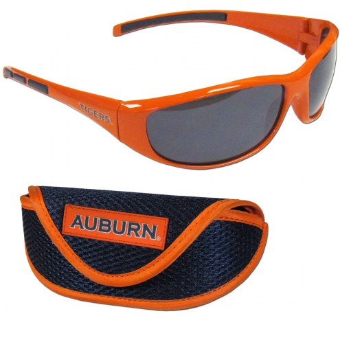 Auburn Tigers Wrap Sunglasses and Case Set