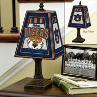 Auburn Tigers NCAA Hand-Painted Art Glass Table Lamp