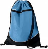 Augusta Cheerleading Tri-Color Draw String Backpack