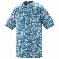 Augusta Digi Camo Wicking Two Button Jersey