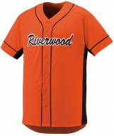 Augusta Slugger Youth Full Button Front Baseball Jersey