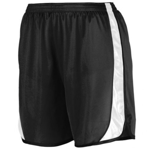 Augusta Track and Field Men's Moisture Wicking Shorts with Side Insert