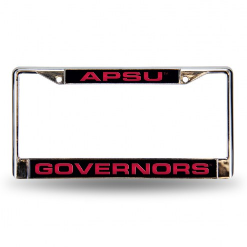 Austin Peay State Governors Laser Chrome License Plate Frame
