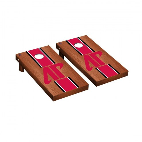 Austin Peay State Governors Rosewood Stained Cornhole Game Set