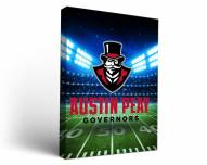 Austin Peay State Governors Stadium Canvas Wall Art