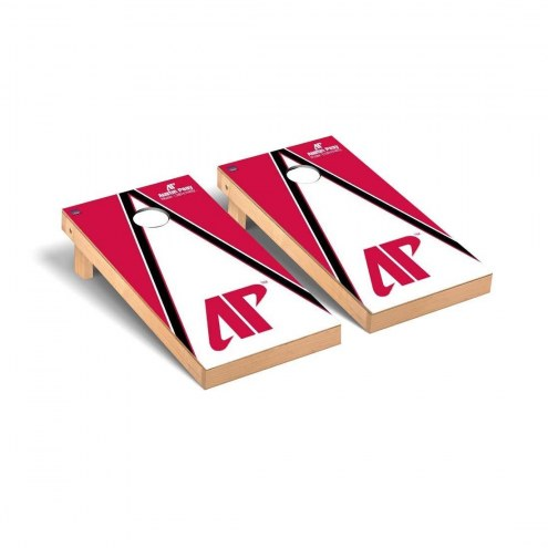 Austin Peay State Governors Triangle Cornhole Game Set