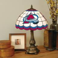 Colorado Avalanche NHL Stained Glass Table Lamp
