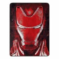 Avengers 4 Iron Man's Threat Micro Raschel Throw Blanket