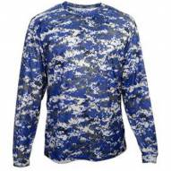 Badger Sport Adult Digital Camo Long Sleeve T-Shirt