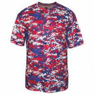 Badger Sport Youth Digital Camo Short Sleeve T-Shirt